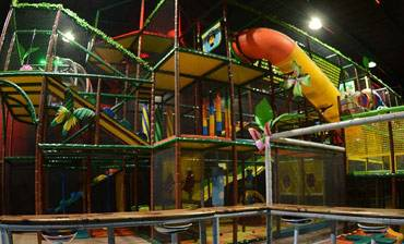 Lost Worlds Adventures Family Fun Center Play Structure