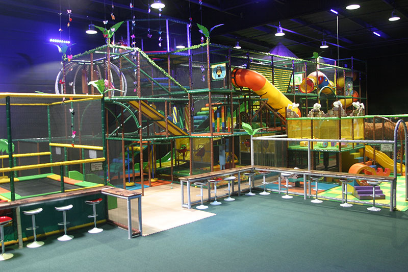Largest Indoor Play Structure in Northern California | Lost Worlds ...